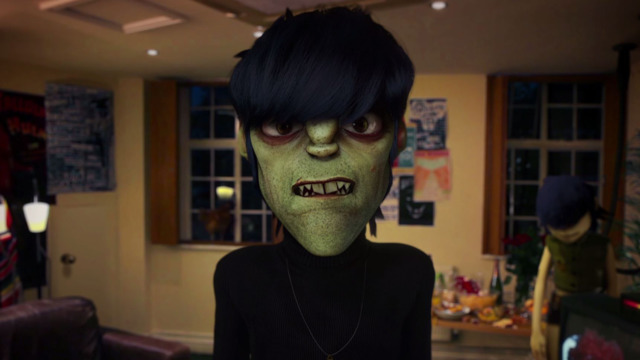 Thumnail of Gorillaz 'Dressing Room'
