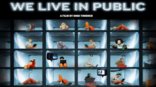 Thumbnail of We live in public